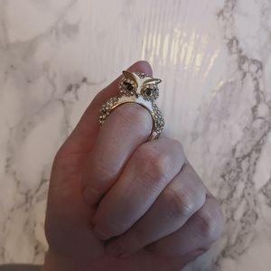 Kate Spade Pave Owl Ring